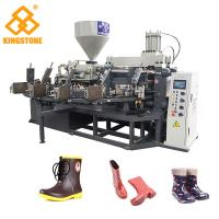 Buy cheap PVC Short Gum boots Injection Machine , Automatic Safety Shoe Making Machine from wholesalers