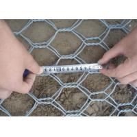 China 1 x 1 x 1m  80 x 100 Hole Heavy Zinc  Woven Gabion Box  with 3 . 5 Wire Daimeter wholesale