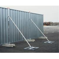 Buy cheap Construction Site Temporary Hoarding Panels As 4687-2007 Temporary Fencing from wholesalers
