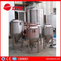 China Durable Beer Brewing Equipment Conical Fermenter 50mm 80mm 100mm Thickness wholesale