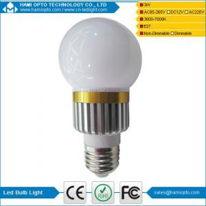 China Energy Saving 3Watt LED Globe Lamps 80 CRI  Commercial LED Lighting wholesale