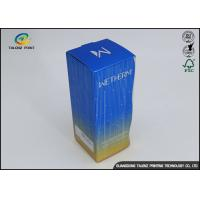 Buy cheap 4c Offset Printing Cosmetic Packaging Boxes For Facial Cleanser Toner from wholesalers