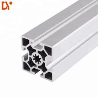 China Square 6063 Extrusion Aluminium Tube Sections , Customized V Slot Aluminum Profile on sale