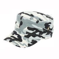 China 2019 Flat Top Army Cap , New Style Military Camouflage Cap 100% Cotton wholesale
