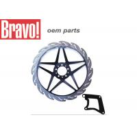 China Honda Titan Motorcycle Parts Motorcycle Brake Rotors / Discs Sample Avaliable wholesale