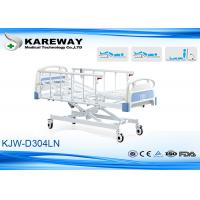 China Height Adjustable ICU Hospital Bed Three Motors X Structure For Public Hospital on sale