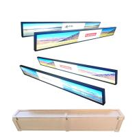 China Wall Mounted Ultra Wide Digital Signage , Metal Shell Waterproof Lcd Display wholesale