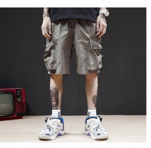 China No Fading Eco Friendly Grey Men Streetwear Shorts S To 6XL Size wholesale