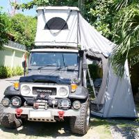 Buy cheap Tear Resistant Car Top Tent Hard Shell With Clipper - Built Design from wholesalers
