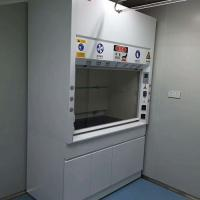 China Chemical Steel Fume Hood For Adjustable Air Volume Up To 0.5m/S wholesale