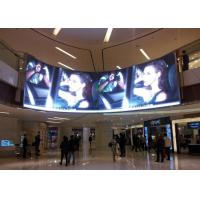 China 5mm Pixel Pitch Curved LED Panels 1/16 Scan Constant Current Commercial LED Displays wholesale
