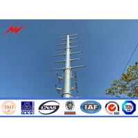 Buy cheap 27m Flange Type Philippines NGCP Traditional Electric Mono Pole Tower from wholesalers