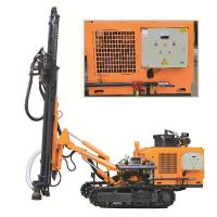 China DTH Rock Well Drill Rig KG430SH Punching Machine For Hard Rock Rotary Drilling Rig wholesale
