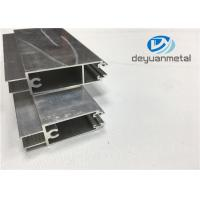China Gb 5237-2008 Mill Finished Aluminum Door Profile 6000 Series Nature Color wholesale