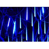 China Romantic Meteor Shower Falling Star Lights 50cm 10 Tubes 48 LEDs White / Green wholesale