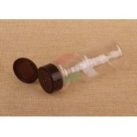 China Recyclable Clear Plastic Cylinder 200Ml Spice Packaging Canister With Shake Top wholesale