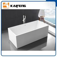 China Small Stand Alone Bathtubs , Deep Freestanding Soaking Tubs For Small Spaces wholesale