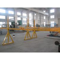 China Lifting Suspension Mechanism Suspended Work Platform With Dipping Zinc / Painted Steel Material wholesale