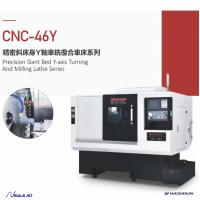 China Y - Axis Cnc Turning Machine , Cnc Turning Machine With High Efficiency wholesale