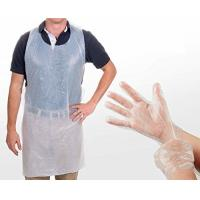 China Safety Disposable Medical Aprons , Disposable Kitchen Aprons 17 Mic Thickness wholesale