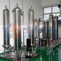 China Commercial Beer Filtration System Used In Beer Glass Bottle Filling Machine wholesale