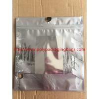 Buy cheap Customized Made Poly Underwear Plastic Bag With Hanger Hook 3 Colors Gravure from wholesalers