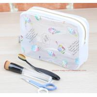 Quality Eco Durable Toilet Kit PVC Cosmetic Bag Clear Wash Bag Organizer Pouch for sale