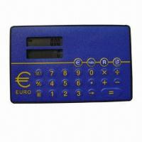 China Eight Digits Card Size Two Line Display Euro Converter on sale