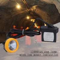 China Explosionproof Portable Led Miners Light 1 Watt 6.6ah Rechargeable wholesale