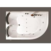 China Aganist Wall Free Standing Jetted Soaking Tub , American Standard Whirlpool Tub wholesale