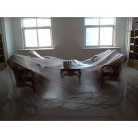 China 6 Mil Polyethylene Plastic Liner Hot Temperature Endurable For Floor Covering wholesale