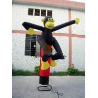 China Custom Inflatable Air Dancer / Sky Dancer Inflatable Monkey Shaped Of Promotion wholesale