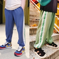 China Sloid Color 300g 260g Kids Baby Boy Casual Pants For Summer wholesale