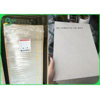 Buy cheap Plain Grey Board Recycled 2.0mm 1250gsm Hard Stiffness Paperboard from wholesalers
