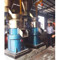 China 8t/H 75kw Flat Die Extrusion Granulator wholesale