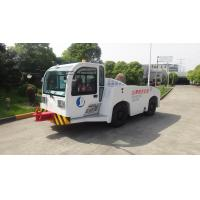 China Security Diesel Tow Tractor , Aircraft Towing Equipment Suspension Driver Seat wholesale