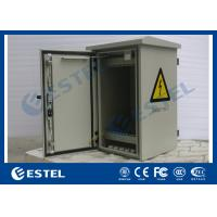 China 6U Double Wall Pole Mount Enclosure , 19 Inch Rack Cabinet Anti-Rust Paint wholesale