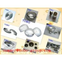 China butt welding fitting Sch 40 Stainless Steel vent pipe fitting caps wholesale