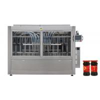 Buy cheap Full Automatic Chill Paste meat jam Sauce Bottle Filling Machine line from wholesalers