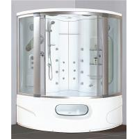 China Modern Corner Shower Tub Combo , Steam Shower Cubicle Enclosure Bath Cabin With Jets wholesale