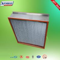 China Food Beverage Industry Replacement Hepa Filters High Temperature Resistance on sale