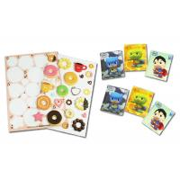 Buy cheap 3 Mm Thickness 3D Puffy Stickers , Cartoon Shapes Cute Puffy Stickers from wholesalers