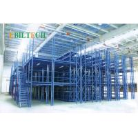 China Q235 Steel Metal Warehouse Mezzanine Systems With Steel Panel Heavy Duty wholesale