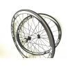 China Super Light V Brake Carbon Road Race Wheels 38mm 45mm Clincher Tubular wholesale