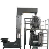 China Potato Chips Automatic Vertical Packing Machine , Vertical Form Fill Seal Machine Combination Scale wholesale
