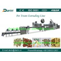 China Pet Soft Treat Dog Food Extruder Processing Line with single screw wholesale