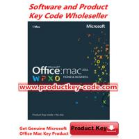 China Microsoft Office Product Key Codes, Microsoft Office For Mac 2011 Home and Business FPP ESD Key Code on sale