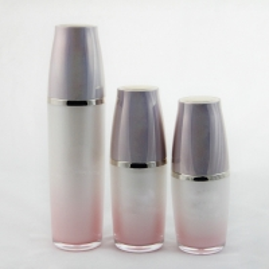 China Wholesale 30ml 50ml 100ml Slik-screen Printing Clear serum Airless Bottle with Pump Sprayer wholesale