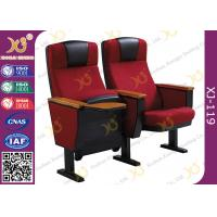 China Full Upholstered Metal Framework Auditorium Chairs , Conference Room Seating wholesale