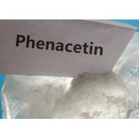Buy cheap Phenacetin Anti Inflammatory Steroids Pain Relieving Drugs White Powder from wholesalers
